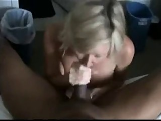 Hot slut wife deep BBC DP