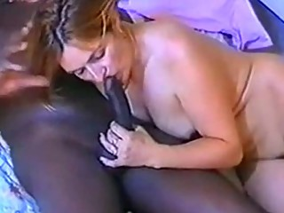 French redhead milf gets fucked by her big black lover