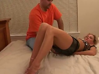 Black guy fucks wife while hubby watches. Hubby goes next
