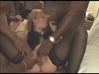 Tight wife fucked with some bbcs